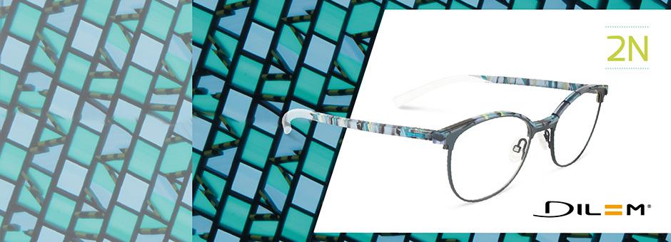 New York Gute Preise Rabatt-Verkauf DILEM Brillen mit auswechselbaren Bügeln